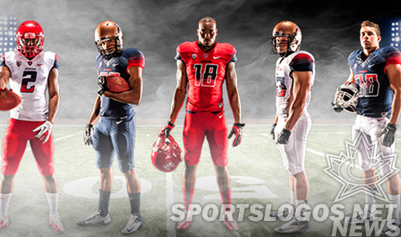 Arizona Wildcats Football Announce New Gradient-Crazy Football Unis