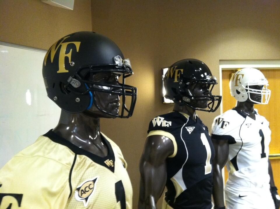Wake Forest Has Two New Helmets, But Not The Ones We Had Expected