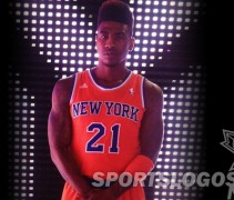NY New York Knicks Orange Jersey alternate