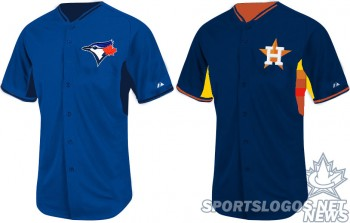 Just a couple of educated guesses on our part on what some of the 2014 MLB BP jerseys could look like.  Here's Toronto and Houston