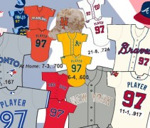 MLB Uniform Stats 2013 All-Star Break