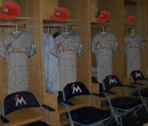 Marlins Grey Orange