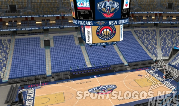 New Orleans Pelicans Unveil Their Home Court
