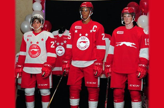 SSM Greyhounds New, Classic, Red Wings Look Unveiled
