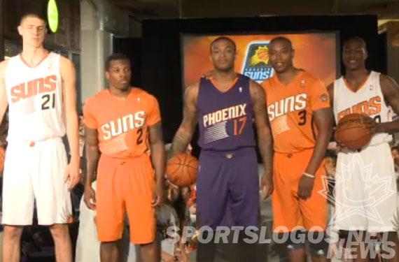 Phoenix Suns Unveil New Uniforms, Sleeved Alternate