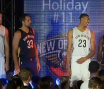 Pelicans New Uniforms