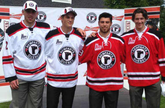 Quebec Remparts Unveil New Uniforms, Colours