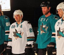 San Jose Sharks Unveil New Uniforms 2013-14