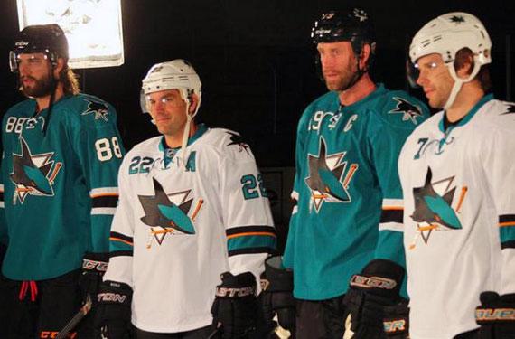 San Jose Sharks Unveil Minor Changes to Uniforms