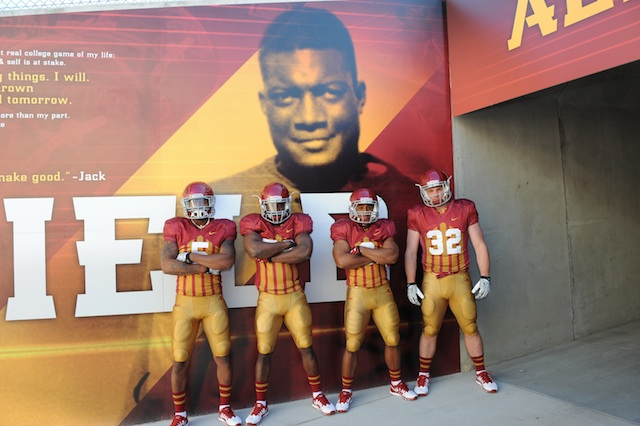 Iowa State Cyclones Take it Back to the 1920's With Uniforms for Iowa Game