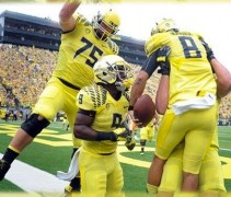 Oregon Ducks Yellow 2013