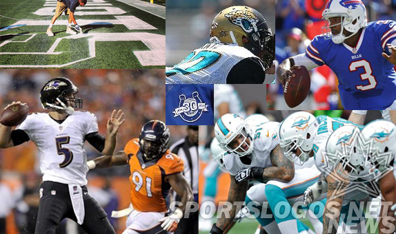 2013 NFL Uniform Changes You Missed – AFC Edition