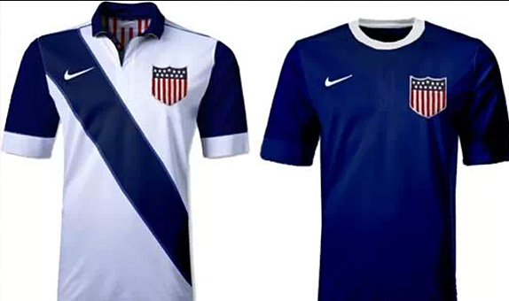 Are these the USMNT World Cup Jerseys?