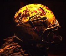 Arizona State helmet ASU flame new design