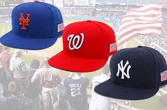 MLB Teams to wear US Flags on Caps for 9/11