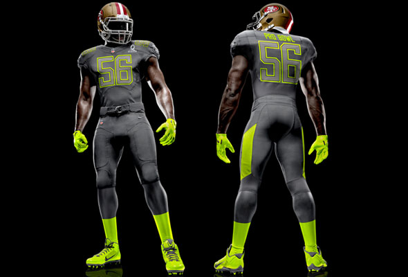 2014 nfl pro bowl uniforms – black