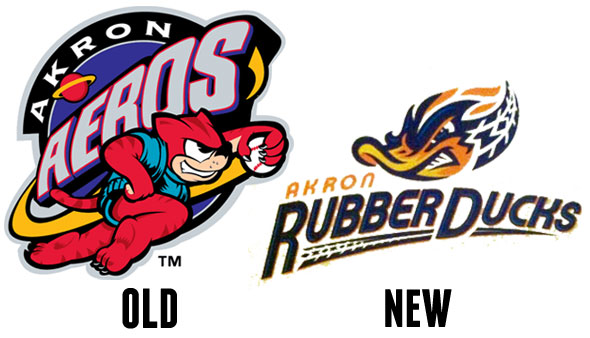 Akron Aeros Become Rubberducks
