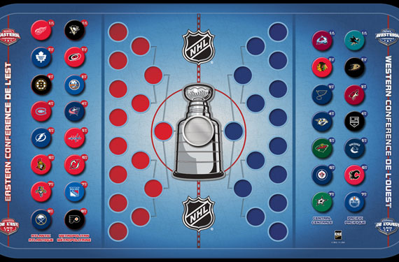 Contest: Win an NHL Standings Board Prize Pack from CSE Games