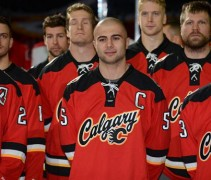 Calgary Flames New Alternate Jersey 2013-14