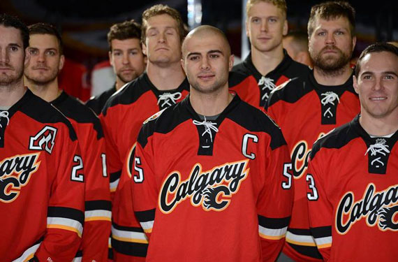 Calgary Flames Unveil New Third Uniform