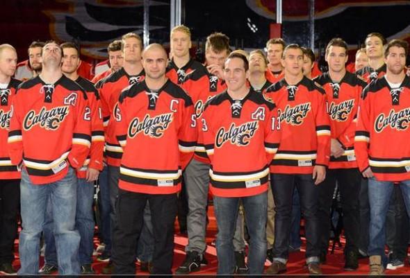Calgary Flames New Third Jersey