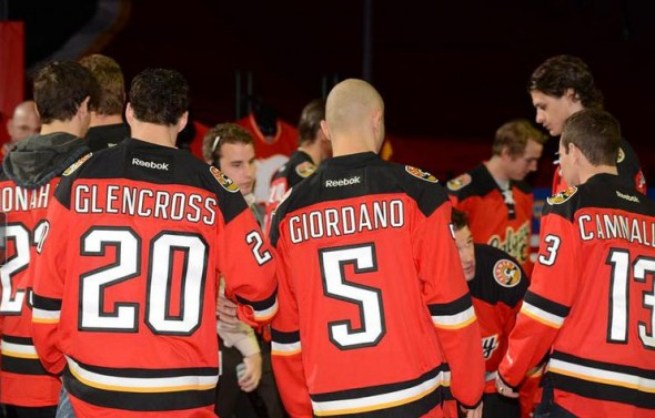 Calgary Flames New Third Jersey Back