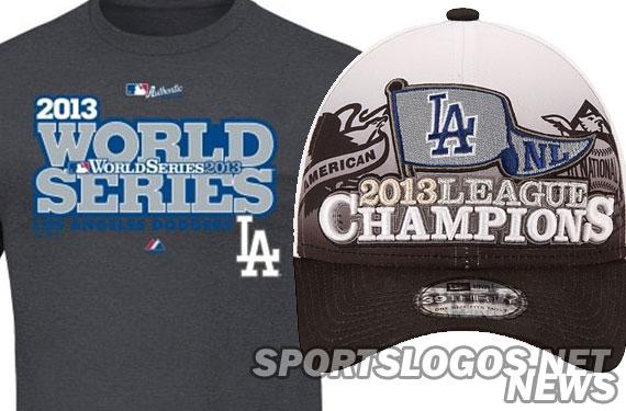 2013 LA Dodgers NL Phantom Champs Merchandise