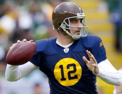 Green Bay Packers Throwbacks Leather Helmets 2012   Chris