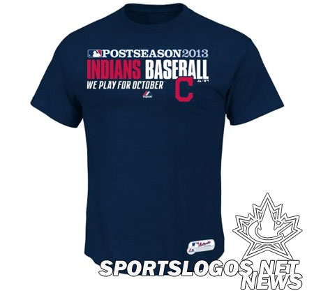 Indians 2013 Postseason shirt