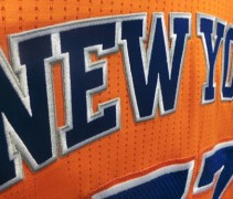 Knicks New Orange Alternate Jersey