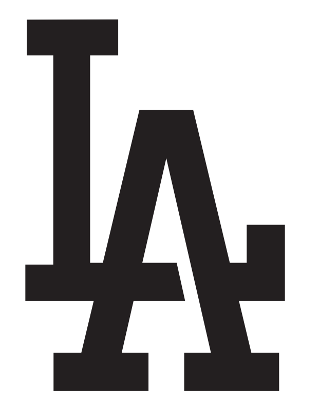 Los Angeles Dodgers Logo Pumpkin Stencil Chris Creamers