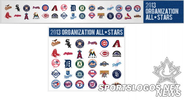 MLB Organization All Stars No Wahoo