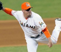Marlins Red-Orange Cap 2012
