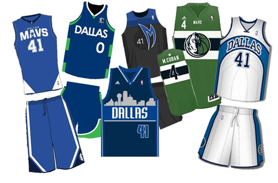 Finalists Announced, Voting Begins for Mavs Fan-Designed Uniform Contest