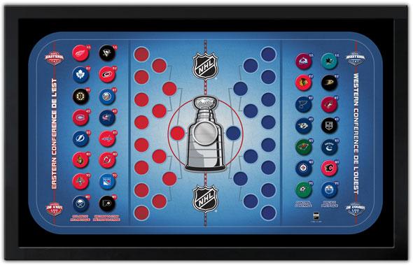 NHL Magnet Standings Board 2013-14