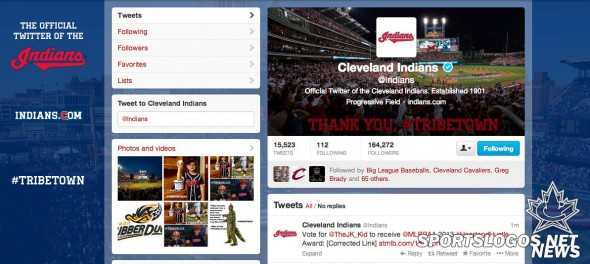 No Wahoo on Indians Twitter
