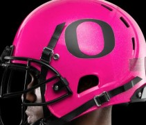 Oregon Pink Helmet