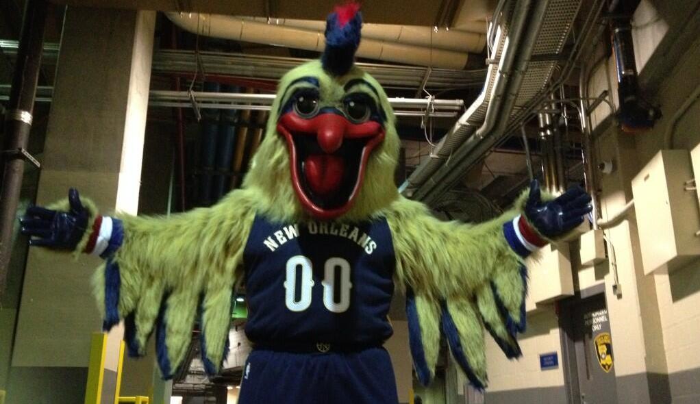 New Orleans Pelicans Unleash Garish Mascot