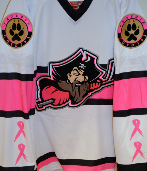 Portland Pirates Unveil Pink in the Rink Jersey