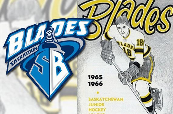 Throwback Jerseys for Saskatoon Blades on Nov 1st