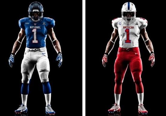 2013 NFL Pro Bowl Uniforms  2172b81a3