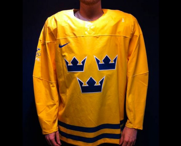 Sweden Hockey Jersey 2014