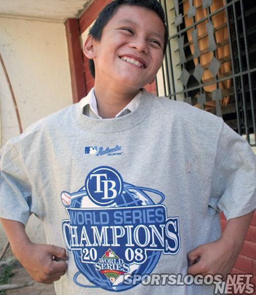 Tampa Bay Rays 2008 World Series Champions T Shirt