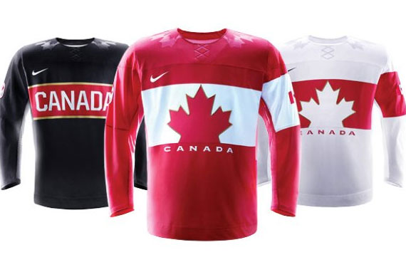 Canada, Nike Officially Unveil Olympic Hockey Jersey