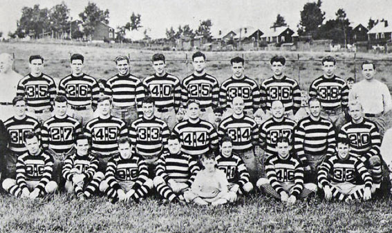 1934 Pittsburgh Pirates NFL Team Photo