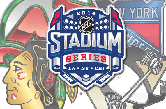 NHL Unveils Chrome Team Logos for Stadium Series