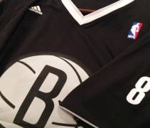 Brooklyn Nets New Sleeved Christmas Jersey 2013-14