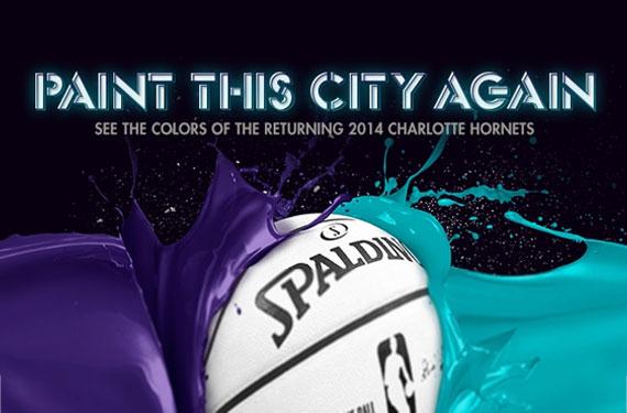 Charlotte Hornets 2014-15 Colours