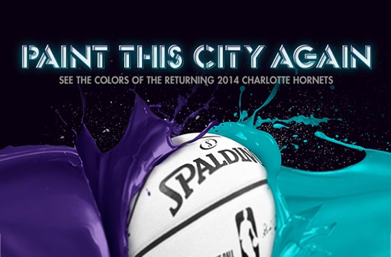 Colour Scheme for Re-Born Charlotte Hornets Announced