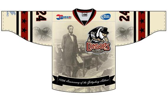 Condors Gettysburg Address Jersey